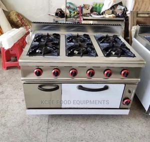 Gas Cooker With Oven 6 Burner | Restaurant & Catering Equipment for sale in Rivers State, Port-Harcourt