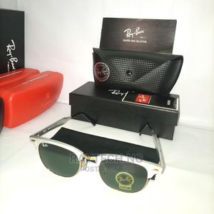 Silver Rayban Clubmaster Darkshades | Clothing Accessories for sale in Lagos State, Ajah