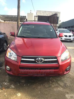 Toyota RAV4 2010 2.5 4x4 Red | Cars for sale in Lagos State, Surulere