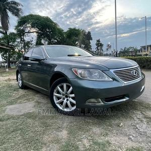Lexus LS 2007 460 AWD Blue | Cars for sale in Lagos State, Yaba