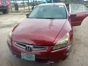 Honda Accord 2005 Red   Cars for sale in Delta State, Warri
