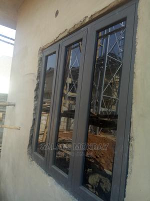 Casement Window With Gray Color   Windows for sale in Abuja (FCT) State, Jabi