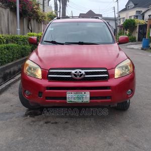 Toyota RAV4 2007 V6 4x4 Red   Cars for sale in Lagos State, Surulere