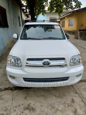 Toyota Sequoia 2006 White   Cars for sale in Lagos State, Isolo
