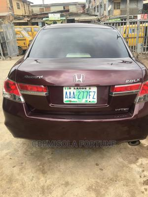 Honda Accord 2009 2.0 i-VTEC Automatic Brown | Cars for sale in Lagos State, Kosofe