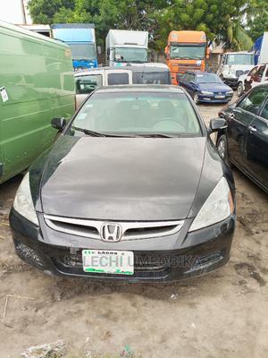 Honda Accord 2005 Black   Cars for sale in Lagos State, Ajah