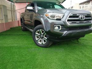 Toyota Tacoma 2016 4dr Double Cab Gray | Cars for sale in Lagos State, Ikeja