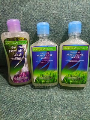 1 Natural Feminine Wash and 2 Natural Masculine Wash | Sexual Wellness for sale in Abuja (FCT) State, Central Business Dis