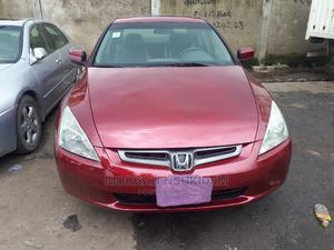 Honda Accord 2005 Sedan EX Automatic Red | Cars for sale in Lagos State, Yaba