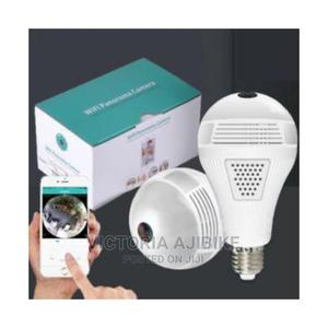 Wifi Panorama CCTV (Camera) Bulb | Security & Surveillance for sale in Lagos State, Abule Egba