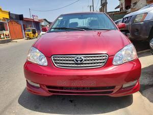 Toyota Corolla 2007 S Red   Cars for sale in Lagos State, Amuwo-Odofin