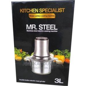 MR. STEEL Stainless Yam Pounder and Grinder 3 Liters | Kitchen Appliances for sale in Lagos State, Lagos Island (Eko)