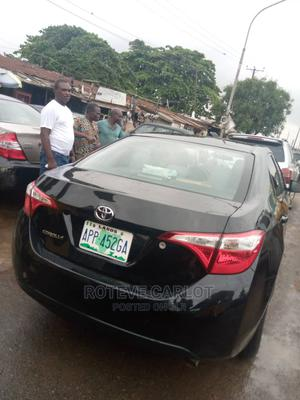Toyota Corolla 2015 Black | Cars for sale in Lagos State, Abule Egba