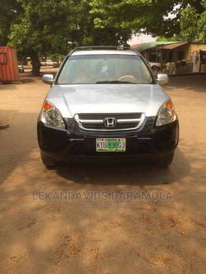 Honda CR-V 2003 EX 4WD Automatic Gray | Cars for sale in Lagos State, Amuwo-Odofin