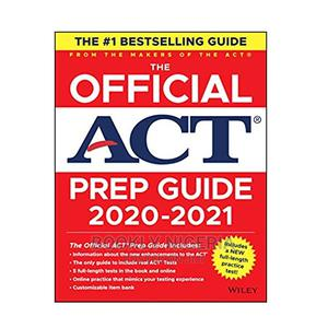 The Official ACT Prep Guide (2020 – 2021) | Books & Games for sale in Lagos State, Yaba