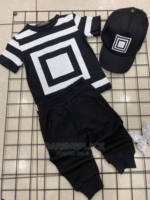 3pcs Top, Joggers With Face Cap Boys Outfit | Children's Clothing for sale in Lagos State, Alimosho