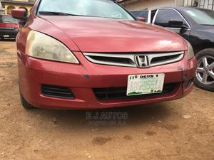 Honda Accord 2007 Red | Cars for sale in Lagos State, Abule Egba