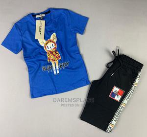 2pcs Burberry Set Boys Clothing Outfit   Children's Clothing for sale in Lagos State, Alimosho