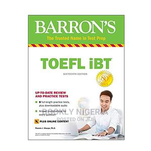 Barron'S TOEFL Ibt (Sixteenth Edition) | Books & Games for sale in Lagos State, Yaba