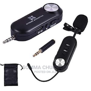 Wireless Rechargeable Tie Clip Lavalier Lapel Mic   Audio & Music Equipment for sale in Lagos State, Mushin