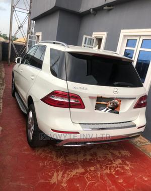 Mercedes-Benz M Class 2013 ML 350 4Matic White | Cars for sale in Delta State, Oshimili South