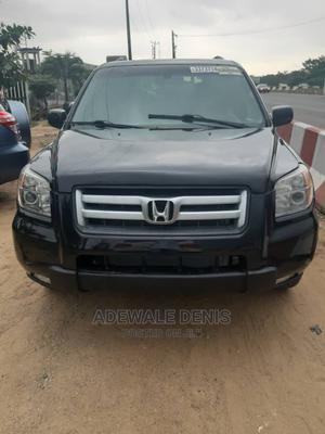 Honda Pilot 2006 EX-L 4x4 (3.5L 6cyl 5A) Black | Cars for sale in Lagos State, Ikeja