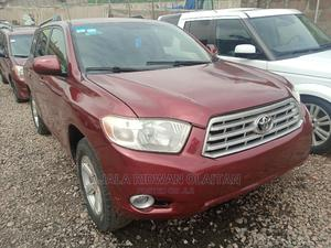 Toyota Highlander 2008 Limited 4x4 Red | Cars for sale in Lagos State, Yaba