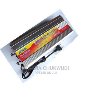 Suoer 2000w Inverter With 20a Inbult Charger | Accessories & Supplies for Electronics for sale in Lagos State, Mushin