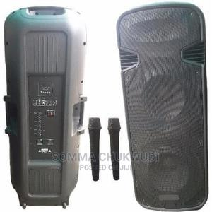 Full Range Rechargeable Pa System With Dual Wireless Microph | Audio & Music Equipment for sale in Lagos State, Mushin