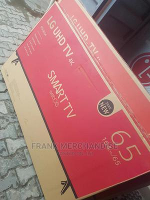 Original LG TV 65inches Smart TV Uhd 4K With Netflxi Youtobe | TV & DVD Equipment for sale in Lagos State, Amuwo-Odofin
