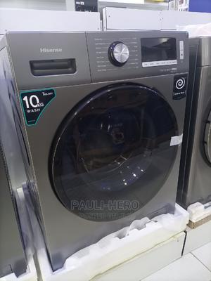 Hisense Washing Machine 10kg Wash Dry. | Home Appliances for sale in Abuja (FCT) State, Wuse