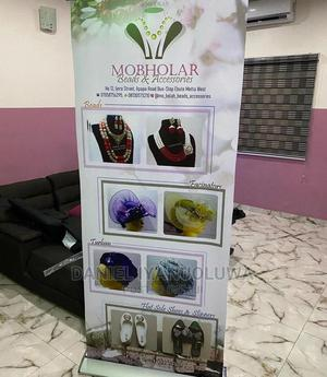 Roll Up Banner   Printing Services for sale in Lagos State, Agboyi/Ketu
