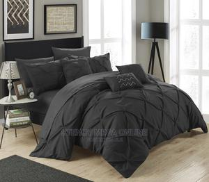 Black Bedsheets With Duvet | Home Accessories for sale in Lagos State, Surulere