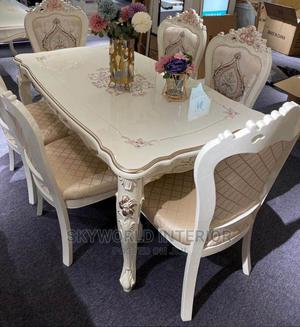 Royal Wooden Dinning Table.   Furniture for sale in Lagos State, Ikeja