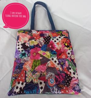 Floral Pattern Tote Bag | Bags for sale in Lagos State, Agege