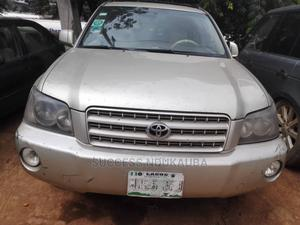 Toyota Highlander 2004 Gold   Cars for sale in Lagos State, Ikeja