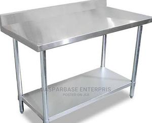 6ft Working Table With Back | Restaurant & Catering Equipment for sale in Lagos State, Surulere