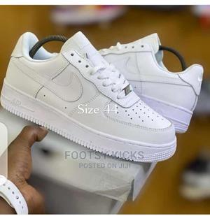 Plain White Nike | Shoes for sale in Delta State, Warri