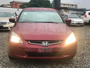 Honda Accord 2005 2.0 Comfort Red | Cars for sale in Lagos State, Yaba