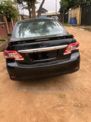 Toyota Corolla 2012 Black   Cars for sale in Lagos State, Abule Egba