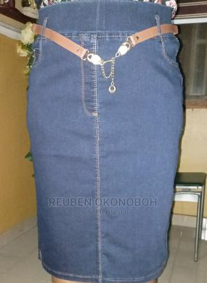 Ladies Jean Skirt   Clothing for sale in Lagos State, Isolo
