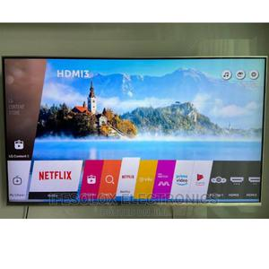 55 Inch LG Webos Smart 4K UHD AI Thinq LED TV - London Used | TV & DVD Equipment for sale in Lagos State, Ojo