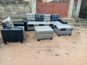 A Complete Sofa With Center Table | Furniture for sale in Lagos State, Ikeja