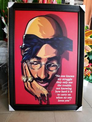 Wall Art/Frame 2pac | Home Accessories for sale in Lagos State, Ojo