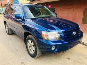 Toyota Highlander 2004 V6 AWD Blue | Cars for sale in Lagos State, Ikeja