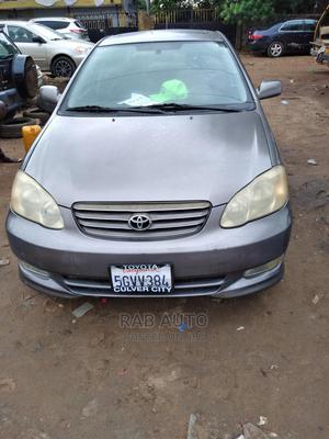 Toyota Corolla 2004 Sedan Gray | Cars for sale in Lagos State, Gbagada