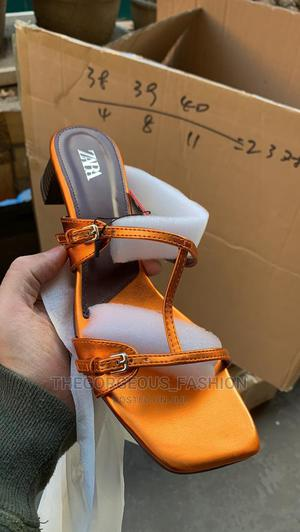 Zara Low Heel Slippers | Shoes for sale in Lagos State, Apapa