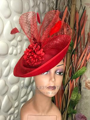 Red Fascinator   Clothing Accessories for sale in Lagos State, Victoria Island