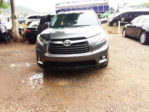 Toyota Highlander 2015 Gray | Cars for sale in Abuja (FCT) State, Gwarinpa
