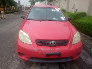 Toyota Matrix 2005 Red | Cars for sale in Lagos State, Ojodu